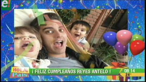 Reyes Antelo está de cumpleaños