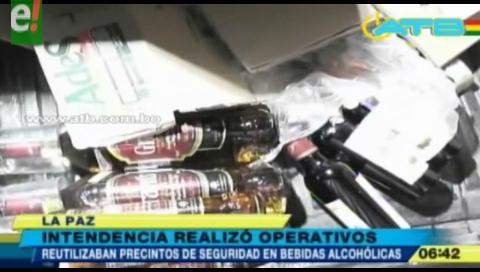Hallan bebidas alcohólicas falsas y toman de rehén a funcionario edil