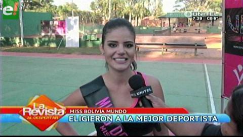 Esthefanía Yabeta la mejor deportista del MBM 2016
