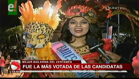 Entregaron títulos previos del Miss Bolivia Mundo 2016