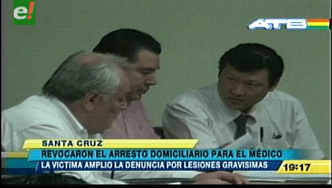 Revocan arresto domiciliario al médico acusado de negligencia