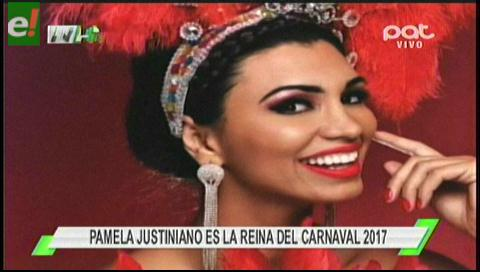 Llegó el carnaval con Pamela Justiniano