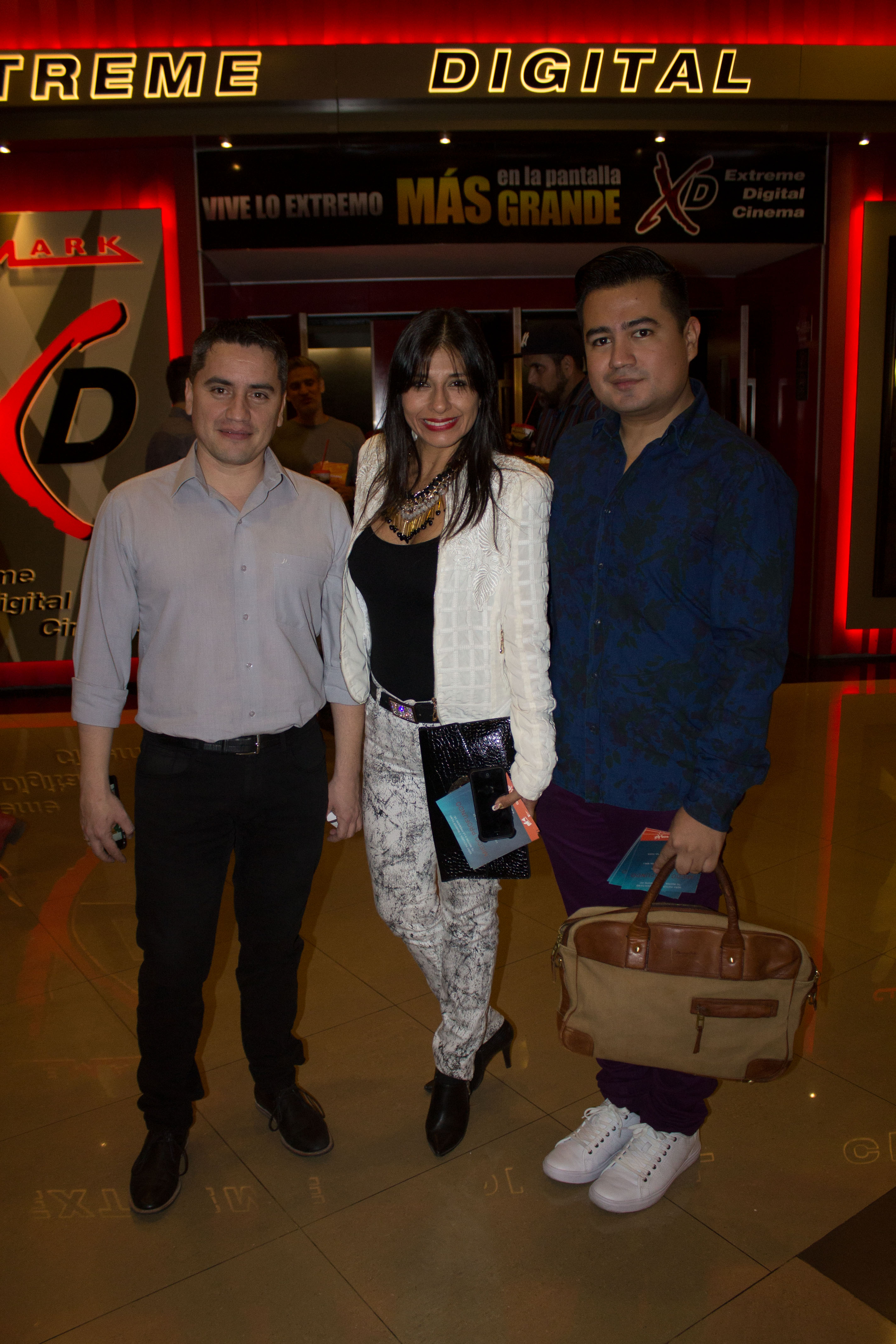 Marcio Guillén, Tatiana Monje y Diego Majluf_
