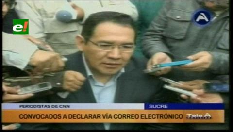 Fiscal General de Bolivia denuncia que periodistas de CNN obstruyen investigaciones del caso Zapata