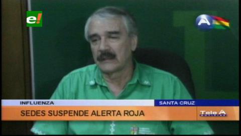 Influenza: Sedes levantan alerta roja en Santa Cruz