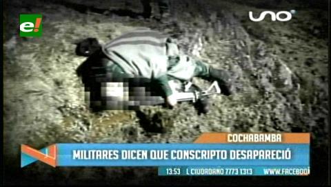 Cochabamba: Investigan muerte de soldado, perdió la vida de un disparo en la cabeza