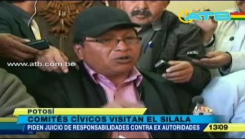 Piden procesar a exautoridades por irregularidades en obras en el Silala