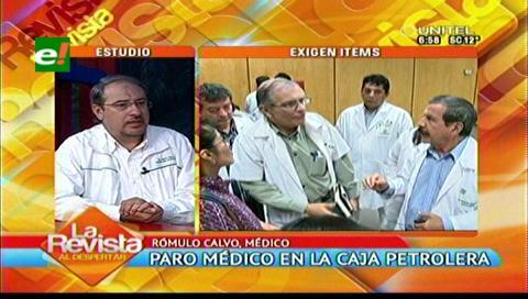 Médicos de la CPS exigen la reanudación de obras y regularización de ítemes