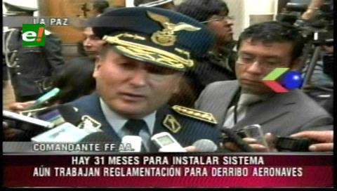 Elaboran reglamento de la Ley 521 para derribar aviones implicados en actos ilícitos