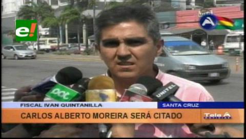 Fiscalía citará a Moreira a declarar por el delito de concusión