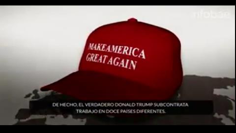 Hillary Clinton y un lapidario e irónico video contra Donald Trump