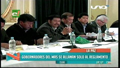 Gobernadores exponen sus propuestas para el pacto fiscal en el Consejo Nacional de Autonomías