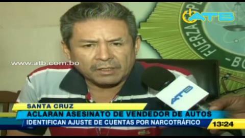 Felcc investiga el asesinato de un vendedor de autos en Santa Cruz