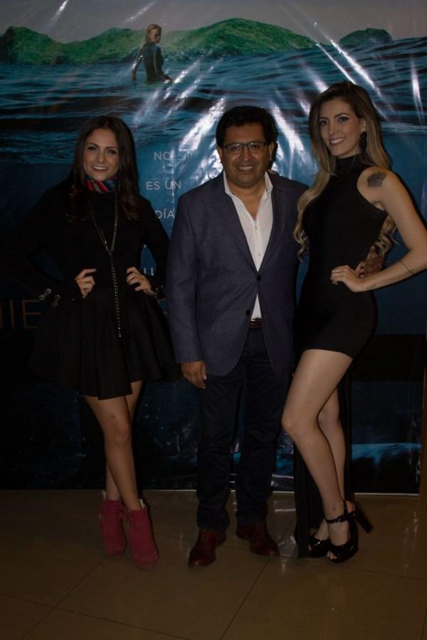 Yamilka Aburdene, Jaime Calderón y Fran Marinho