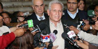 """Rubén Costas: """"No voy a permitir nunca que se ofenda al pueblo cruceño"""""""
