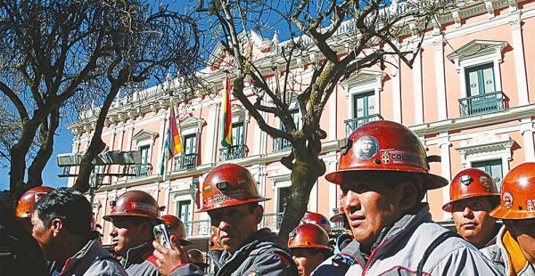 Los mineros cooperativistas tienen representantes en el oficialismo