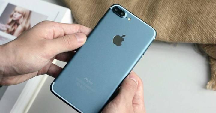 iPhone 7 Plus de color azul