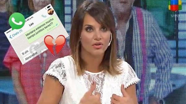 Granata está amargada con la situación, precisó su amiga Yanina Latorre.