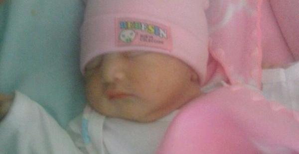 Esta es Andrea, la bebé de dos meses que fue raptada en Montero