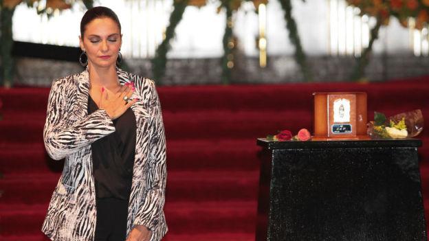Juan Gabriel recibió un homenaje en Bellas Artes