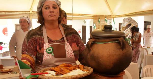 Este sábado se llevó a cabo el concurso municipal de comidas típicas