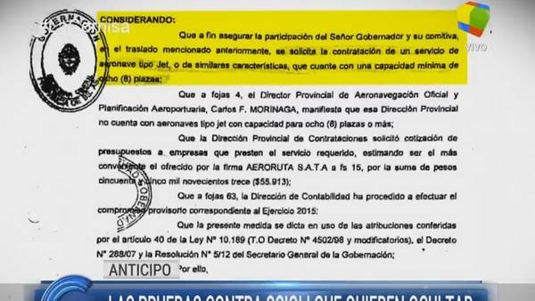 El informe de La Cornisa sobre Daniel Scioli