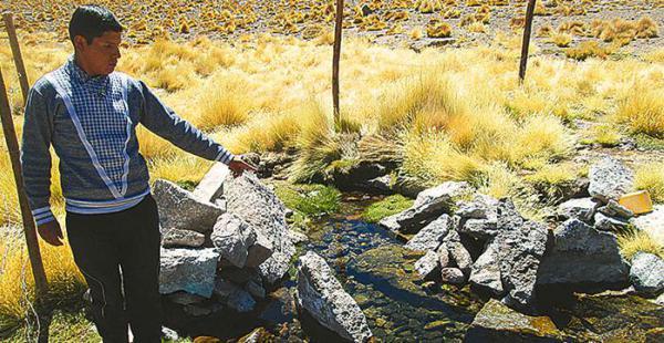 el segundo litigio en la cij a la disputa se sumó la ofensiva chilena por las aguas del silala El Gobierno boliviano ha realizado más de una inspección al manantial situado en Potosí