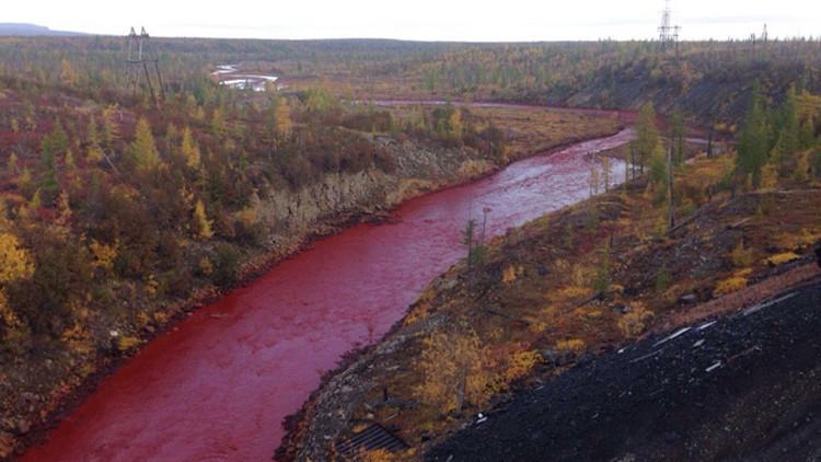 El río Daldykan