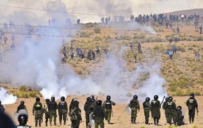 Ministerio Público toma declaración a policías por muerte de cooperativista minero