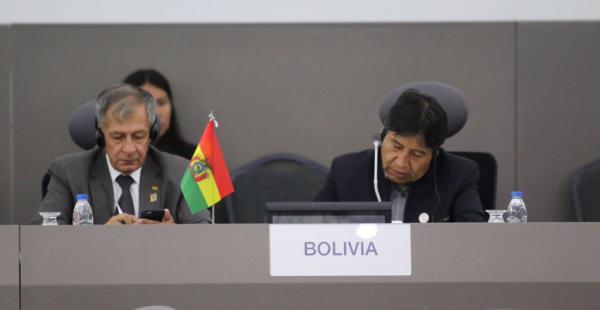 El ministro de Relaciones Exteriores nacional compareció en la Cumbre del Movimiento de Países no Alineados.