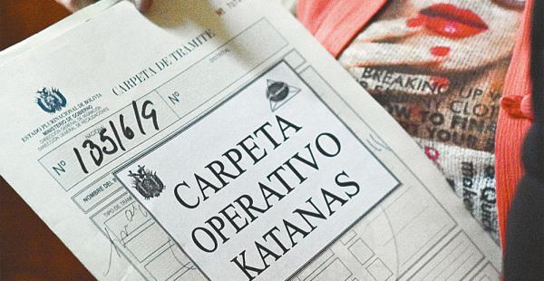 El expediente de Marco Cámara, dueño de Katanas, que fue enviado el sábado a la cárcel de San Pedro