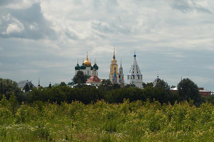 Ciudad rusa de Kolomna.