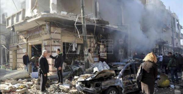Un atentado suicida terminó con la vida de 13 personas, entre ellas un ministro sirio