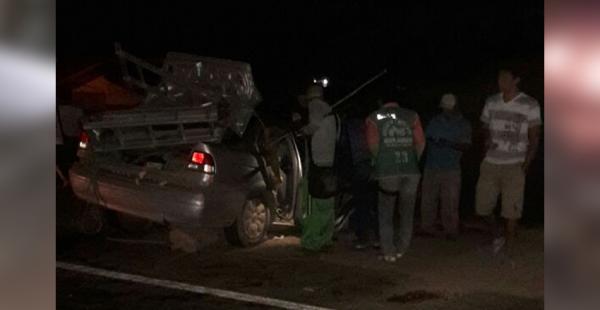 Dos vehículos se habrían visto involucrados en el accidente
