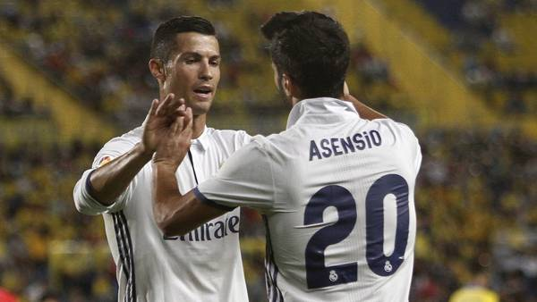 Cristiano Ronaldo, enojado.(EFE)