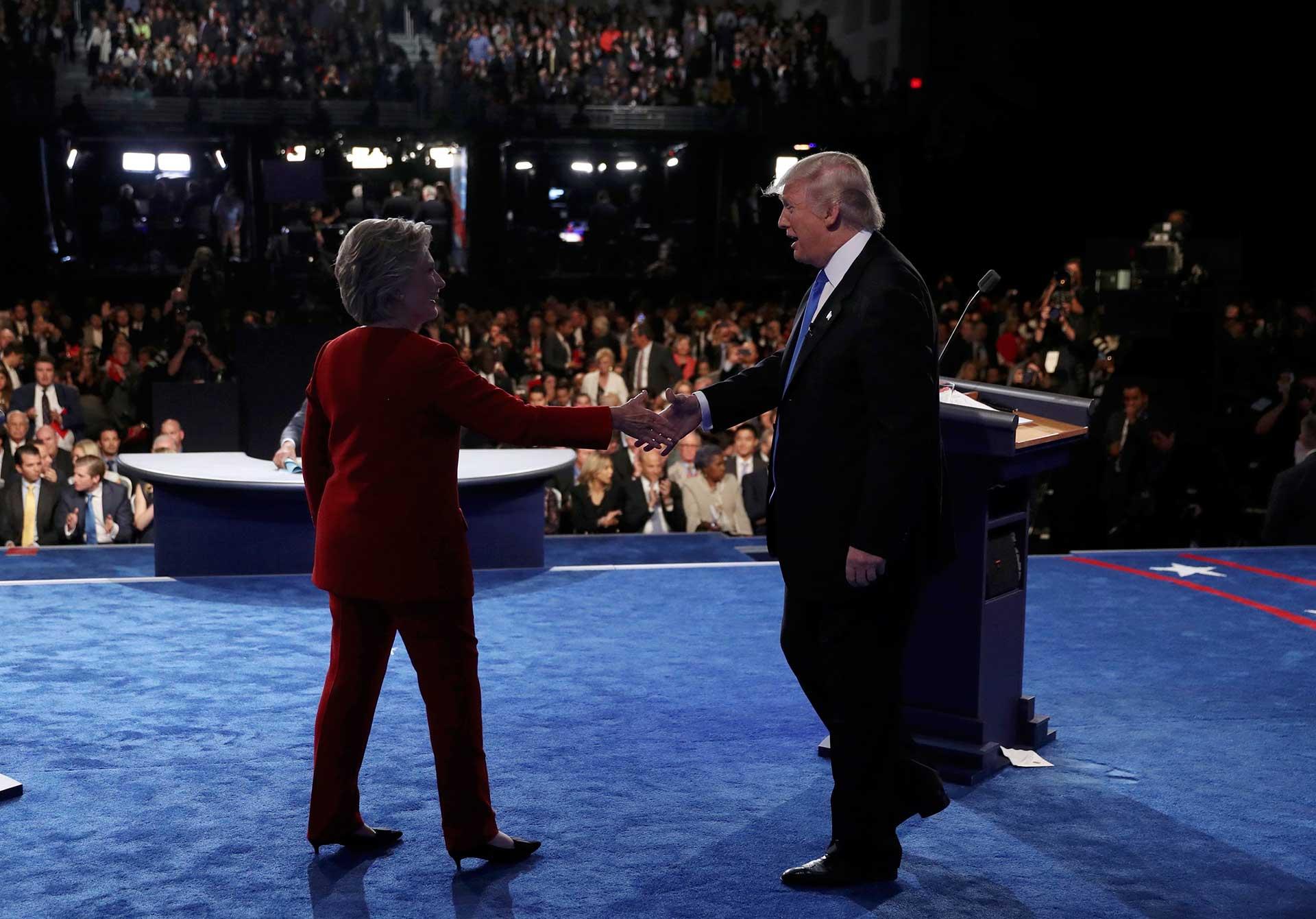 """""""Yo traeré empleos de vuelta. Tú no puedes"""", le lanzó Trump a la ex secretaria de Estado."""