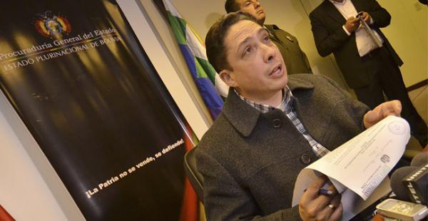 El procurador el Estado, Hector Arce, aseguró que el Estado está dispuesto a llegar a las últimas consecuencias en las instancias jurisdiccionales