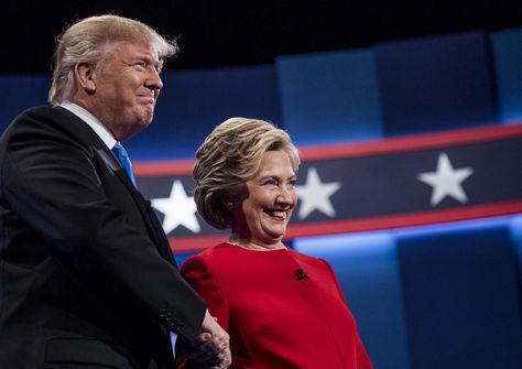 Donald Trump y Hillary Clinton. Foto: www.baltimoresun.com