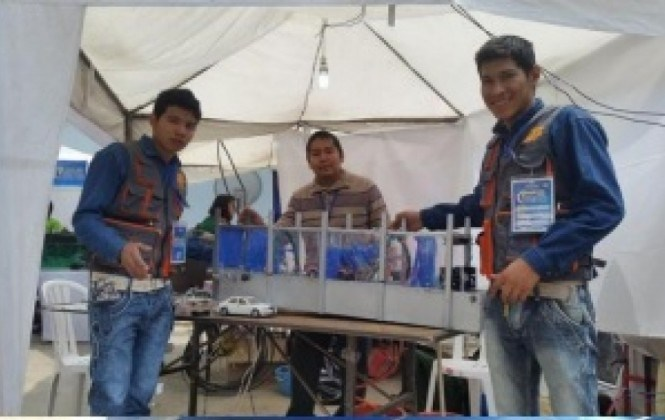 Instituto técnico de Fe y Alegría obtiene el primer lugar en el encuentro tecnológico de Bolivia