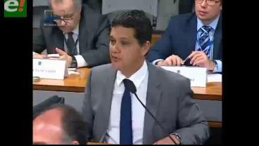 Senado brasileño recordó el caso de Roger Pinto