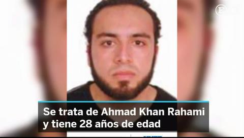 La policía busca a un estadounidense nacido en Afganistán por las bombas de Nueva York