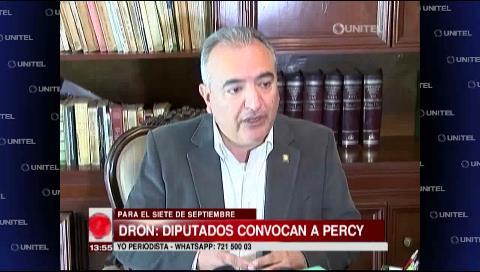 """Diputado Feeney: """"Es una falta de respeto que Percy no asista a La Paz"""""""