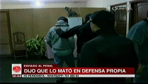 Envían a Palmasola a hombre acusado de matar con un hacha a su compañero