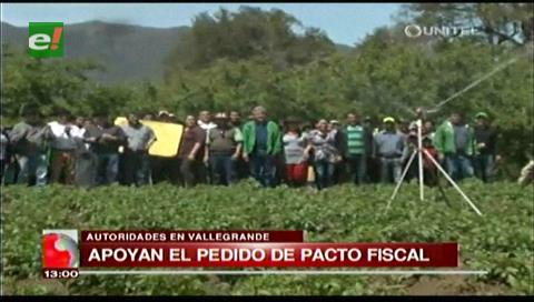 Autoridades vallegrandinas lamentan recortes y piden pacto fiscal