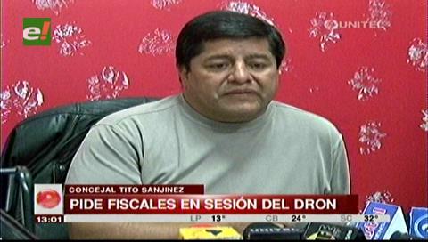 Caso Dron: Sanjinez pide la presencia de fiscales durante la sesión del 21 de septiembre