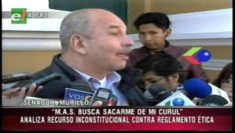 Senador Murillo afirma que el reglamento de ética no aguanta un recurso de inconstitucionalidad