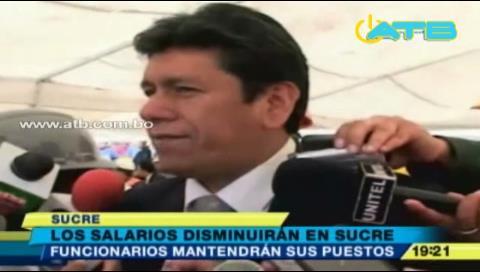 Alcaldía de Sucre reducirá su presupuesto en 2017
