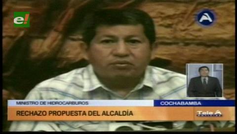 Bombear agua desde Corani: Ministro Sánchez rechaza propuesta del alcalde Leyes