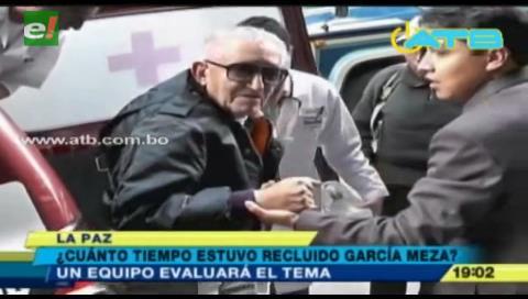 Definirán cuántos años de prisión cumplió García Meza