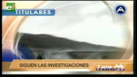 Titulares de TV: Envían a Chonchocoro al presunto asesino del viceministro Rodolfo Illanes